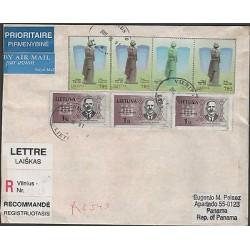 O) 2001 LITHUANIA, PRINTER, EDUCATOR, BANKER-SALIAMONAS BANAITIS, POET OF ROMANC