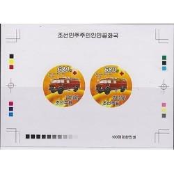 O) 2008 KOREA, PROOF, OLD FIRE TRUCK, MERCEDES BENZ-METZ FL16, XF