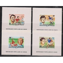 O) 1978 CONGO, PROOF, WORLD CUP SOCCER ARGENTINA 1978 - FOOTBALL, PLAYER AND CO