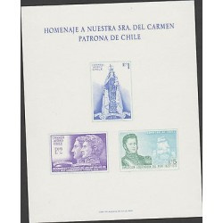 O) 1970 CHILE, PROOF, LIBERATING EXPEDITION-BOAT, VIRGIN, JOSE DE SAN MARTIN, CH