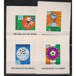 O) 1978 NIGER, PROOF, WORLD CUP SOCCER ARGENTINA 1978, FOOTBALL