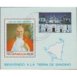 O) 1983 NICARAGUA, POPE JOHN PAUL II - KAROL JOSEF WOJTYLA, VISIT TO NICARAGUA,