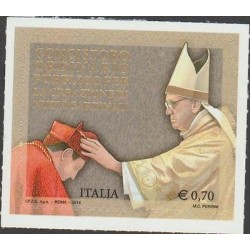 O) 2014 ITALY, POPE FRANCIS - JORGE MARIO BERGOGLIO- FRANCISCO, ADHESIVE - STICK