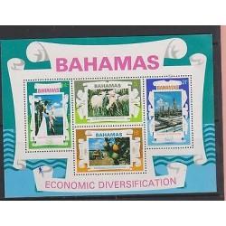E)1975 BAHAMAS, ECONOMIC DIVERSIFICATION,FISHING, CATTLE RAISING