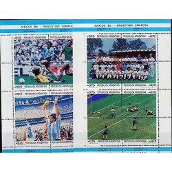 G)1986 ARGENTINA, MARADONA-FOOTBALL MATCHES-ARGENTINA NATIONAL TEAM, ARGENTINA-W