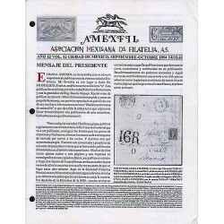 G)1994 MEXICO, AMEXFIL MAGAZINE, SPECIALIZED IN MEXICAN STAMPS, YEAR 12 VOL. 12-