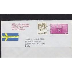 O) 1983 SWEDEN, NOBEL PRIZE IN CHEMISTRY 1903 SVANTE ARRHENIUS, COVER TO UNITED