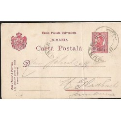 E)1913 ROMANIA, POSTAL STATIONERY, USED