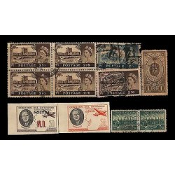 E)1920-70 ECUADOR, ENGLAND, RUSSIA, CZECHOSLOVAKIA, NICE LOT SET, USED