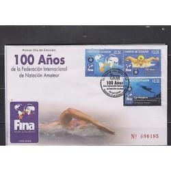 E) 2008 ECUADOR, CENTENARY OF THE INTERNATIONAL AMATEUR SWIMMING FEDERATION