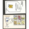 O) 1995 ECUADOR, FAUNA OF ECUADOR, BIRDS-COLIBRIES, FLOWERS, FDC XF.-