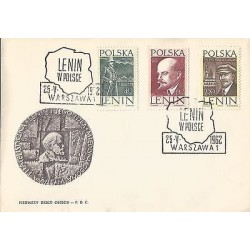 E)1962 POLAND, LENIN ILUSTRATED, LENIN IN POLAND, POLITICAL, REVOLUCIONARY