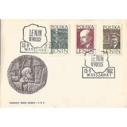 E)1962 POLAND, LENIN ILUSTRATED, LENIN IN POLAND, POLITICAL, REVOLUCIONARY