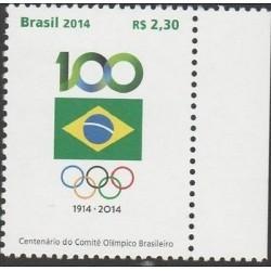 RO)2014 BRAZIL, THE BRAZILIAN OLYMPIC COMMITTEE CENTENARY, MNH