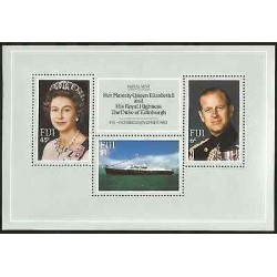 E)1982 FIJI, HER MAJESTY QUEEN ELIZABETH II AND HIS ROYAL HIGHNESS THE DUKE