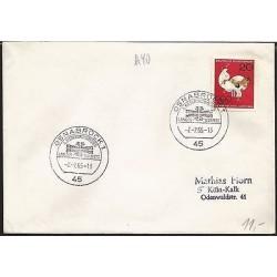 E)1965 GERMANY, TAEKWONDO, OLYMPIC, MARCOPHILIA