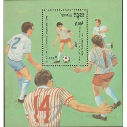 O) 1991 CAMBODIA, WORLD CUP SOCCER 1994 SAN FRANCISCO, SLIGHT TONED, MNH