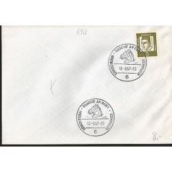 E)1967 GERMANY, ALBERTO MAGNO, HORSE, MARCOPHILIA