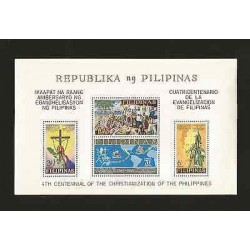 E)1965 PHILIPPINES, CENTENARY OF THE EVANGELIZATION OF THE PHILIPPINES