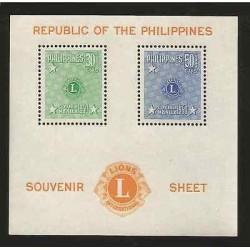 E)1950 PHILIPPINES, LIONS INTERNATIONAL, CONVENTION MANILA, SHIELD