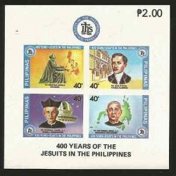 E)1981 PHILIPPINES, 400 YEARS OF THE JESUITS IN THE PHILIPINES, ST. IGNATIUS