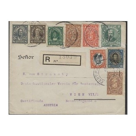 O) 1913 CHILE, FREIRE 8 CENTAVOS, TORO Z. 4 CENTAVOS, COLON 1 CENTAVO- COLUMBUS,