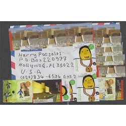 o) 2005 JORDAN, JORDAN JAPAN FRIENDSHIP, COVER TO UNITED STATES - USA, XF