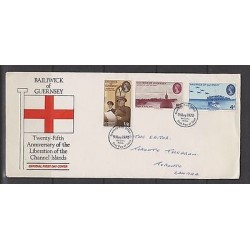 O) 1970 GUERNSEY, LIBERATION OF THE CHANNEL ISLANDS, XF