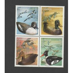 O) 2006 CANADA, DUCKS, SET MNH