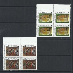O) 1989 ARGENTINA, AMERICA UPAEP, PRE-COLUMBIAN ART CLAY ARCHEOLOGY, PRE-COLUMBI