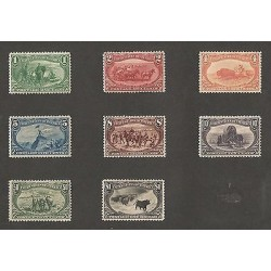 E)1897-1903 USA, TRANS-MISSISIPPI EXPO, WELL CENTERED FRESH, ALMOST COMPLETE SET