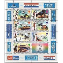E)1974 ANTIGUA, 100TH ANNIVERSARY OF THE UNIVERSAL POSTAL UNION, AIR MAIL