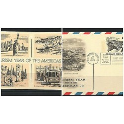 O) 1972 UNITED STATES - USA, MEMORIAL STATUE OF LIBERTY, DEPORT REMO, NATIVE HER