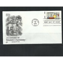 O) 1976 UNITED STATES, USA, CHEMICAL INSTRUMENTS - CHEMISTRY, FDC XF
