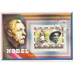 E)1952 ALTO VOLTA, ALBERT SCHWEITZER, PRIX NOBEL TO THE PEACE, DOCTOR, PHILOSOPH