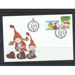 O) 2003 FINLAND, CHRISTMAS, MAILBOX, FDC XF