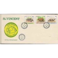 O) 1980 ST. VINCENT, FROG PROLIFIC BREEDER - BUFO MARINUS - RHINELLA, DASYPROCTA
