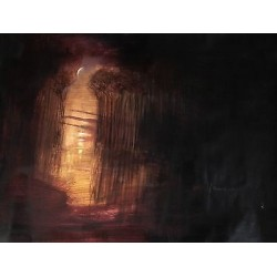 """Serenpidia/Serenpidity"", Jorge Miguel Tenreiro, Abstract expressionism"