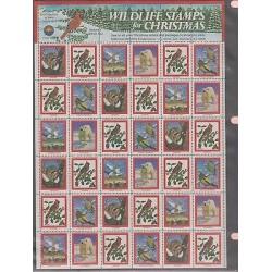 O) 1981 UNITED STATES - USA, CHRISTMAS, WWF - NATIONAL WILDLIFE FEDERATION, PRO