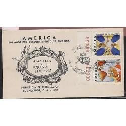 O) 1992 EL SALVADOR, AMERICA UPAEP, ARCHEOLOGY - MAYA CULTURE ARCHAEOLOGY -500