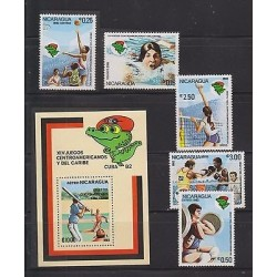 E) 1982 NICARAGUA, XVI CENTRAL AMERICAN AND CARIBBEAN GAMES