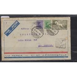 O) 1933 URUGUAY, PEGASUS- 2 CENTS, REVOLUTION RIO DE LA PLATA JOSE GERVASIO ARTI