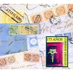 E) 2013 URUGUAY, CIRCULATED COVERS-C.T.T. SYMBIL ON A MAIL BOX