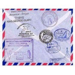 E) 2007 URUGUAY, ANTARCTIC AIR BASE - ARTIGAS, KING GEORGE ISLAND