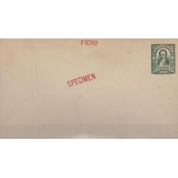 G)1921 PANAMA, PROCER JOSE VALLADINO POSTAL STATIONARY, SPECIMEN & F6782 RED MA