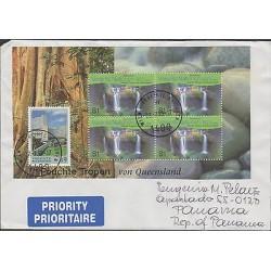 O) 1999 WIEN- AUSTRIA, HUMID TROPICS OF QUEENSLAND, WATERFALLS, COVER TO PANAMA,
