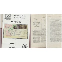 O) 1979 EL SALVADOR, CATALOG THE UNIQUE COLLECTION OF POSTAGE STAMPS OF SALVADOR