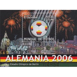 G)2006 EL SALVADOR, SOCCER WORLD CUP GERMANY 2006, OLIMPIC STADIUM BERLIN, FIREW