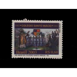E) 2003 BRAZIL, 100 YEARS OF HOLY COLLEGE INACIO-RJ, SINGLE, MNH