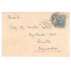 E) 1948 BRAZIL, CIRCULATED COVER FROM BRAZIL TO ECUADOR